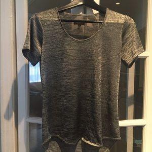Rag and Bone grey short sleeve top. Size S